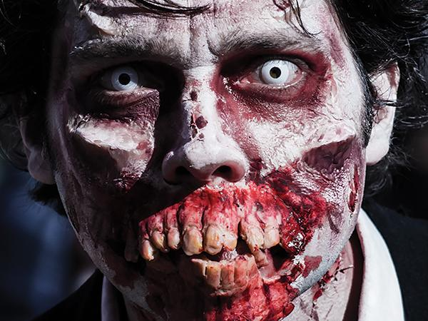 Zombie epidemic draws attention from diverse groups