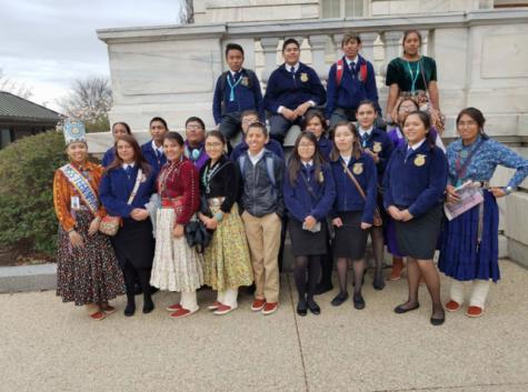 Navajo agriculture teacher motivates, inspires students