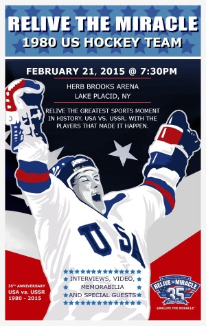 America's favorite team reunites to relive 'Miracle on Ice'