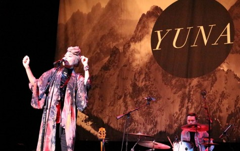 Singing along with Yuna Zarai in Mesa