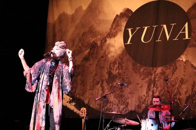 Singing along with Yuna Zarai in Mesa