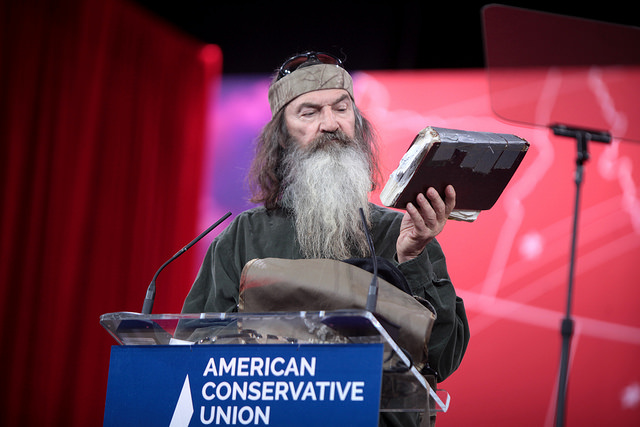 Phil+Robertson+is+no+stranger+to+media+scrutiny.+His+insensitive+remarks+concerning+gays+created+backlash+in+2014.