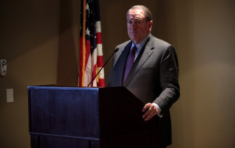 Mike Huckabee tries to achieve martyrdom