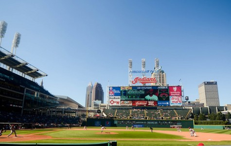 Progressive Field in Cleveland, OH during a game in September 2014. The Cleveland Indians' home is one of many ballparks plagued by attendance issues in recent years.