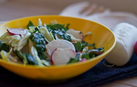 Dining with Denise: kale and radish macro salad