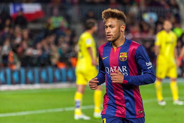 Barcelona+forward+Neymar+has+emerged+as+one+of+the+worlds+best+players+this+season.+The+23-year-old+Brazilian+has+notched+11+goals+in+10+La+Liga+games+thus+far+and+has+been+viewed+as+the+heir+to+teammate+Lionel+Messis+throne.