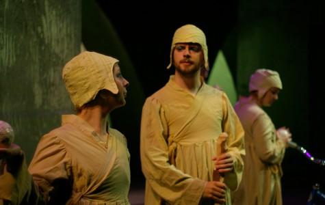 A still photograph from a separate performance of