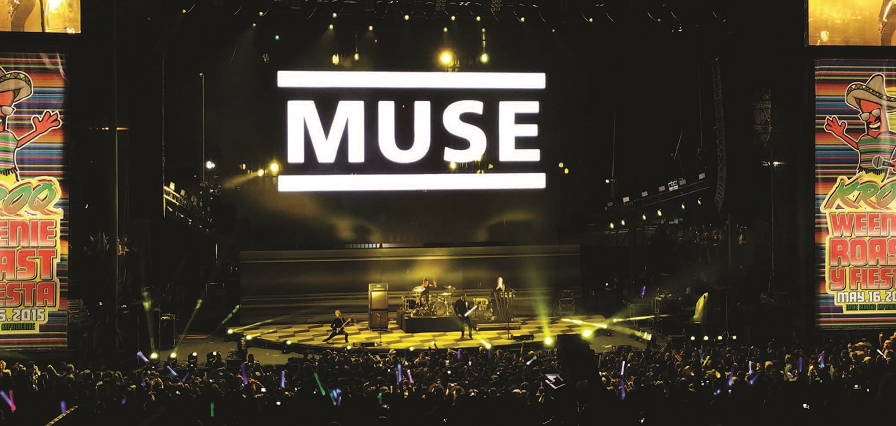 Muse%2C+Gigwise%E2%80%99s+second-best+live+band+of+2015%2C+performs+at+the+KROQ+Weenie+roost.