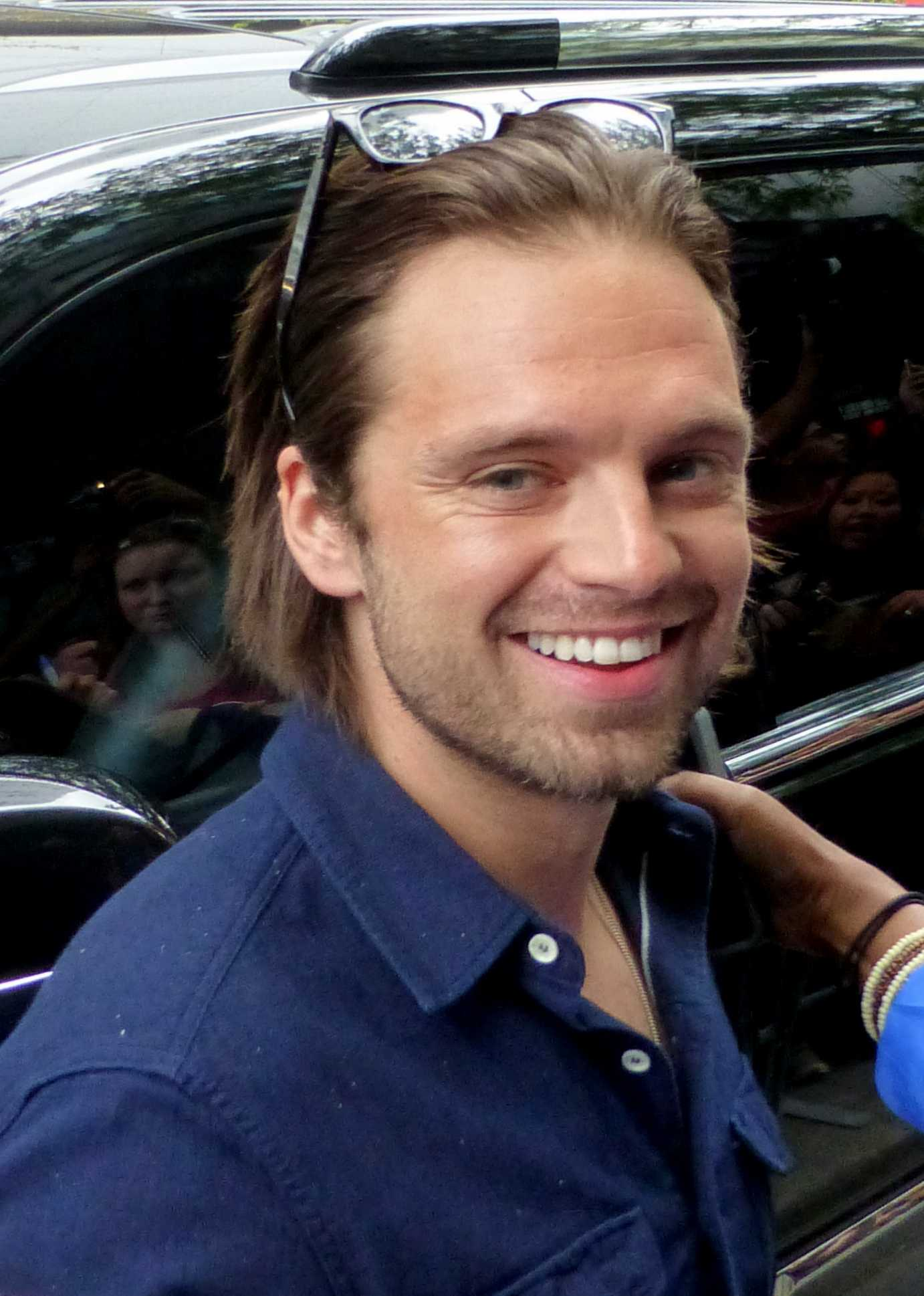 Sebastian Stan, pictured here at the 2015 Toronto Film Festival, stars as the Winter Soldier in