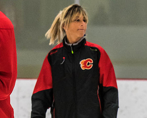 Dawn Braid is now the Coyotes' skating coach, marking the first instance in National Hockey League history that a team has hired a full-time female coach.