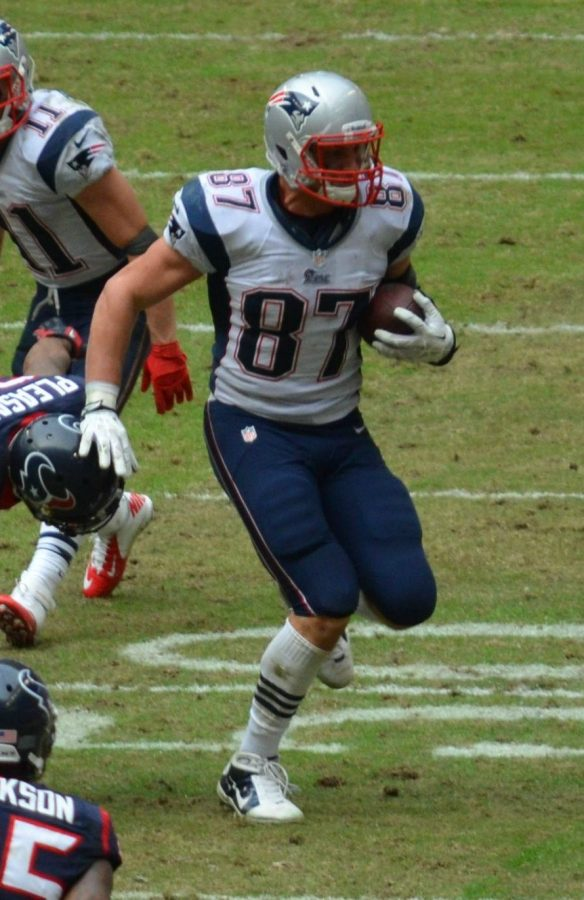 Patriots+tight+end+Rob+Gronkowski+caught+25+passes+for+540+yards+and+three+touchdowns+in+2016.