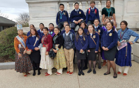 Ag students from MVHS dressed to be honored by Education Week Magazine in a conference held in Washington D.C.