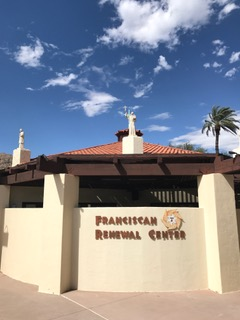Outside look of the Franciscan Church in Paradise Valley, AZ