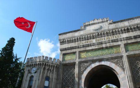 Entrance to Isanbul University in Turkey