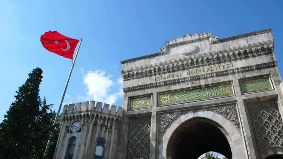 Entrance+to+Isanbul+University+in+Turkey