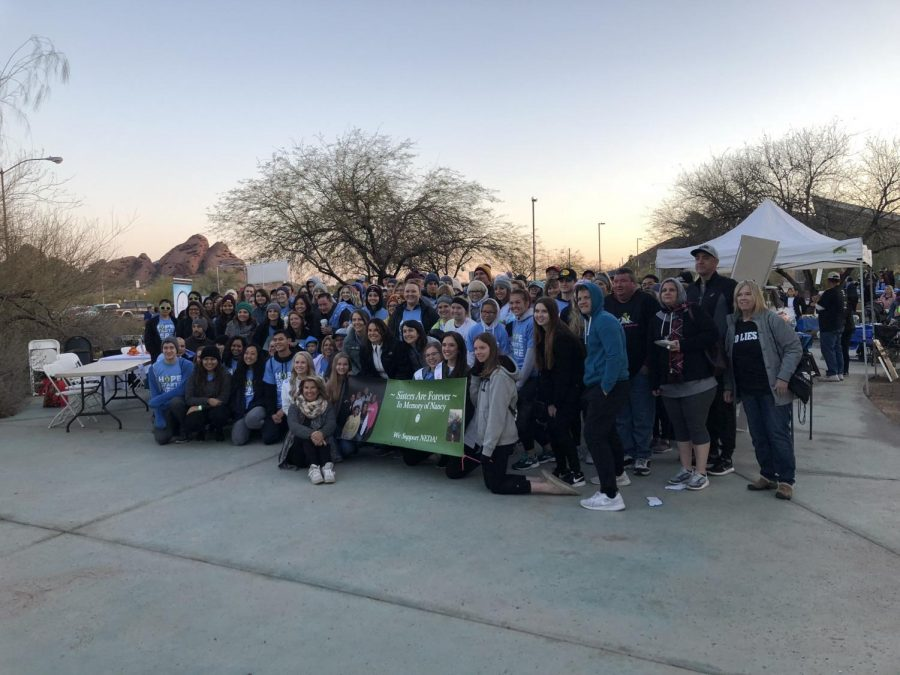 The+group+of+the+people+who+participated+in+the+awareness+walk+at+the+Phoenix+Zoo