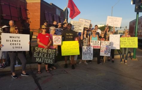 Local protestors bring attention to police shootings of black citizens