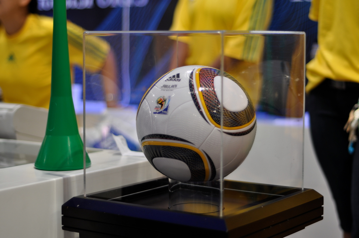 The official FIFA World Cup ball in 2010.