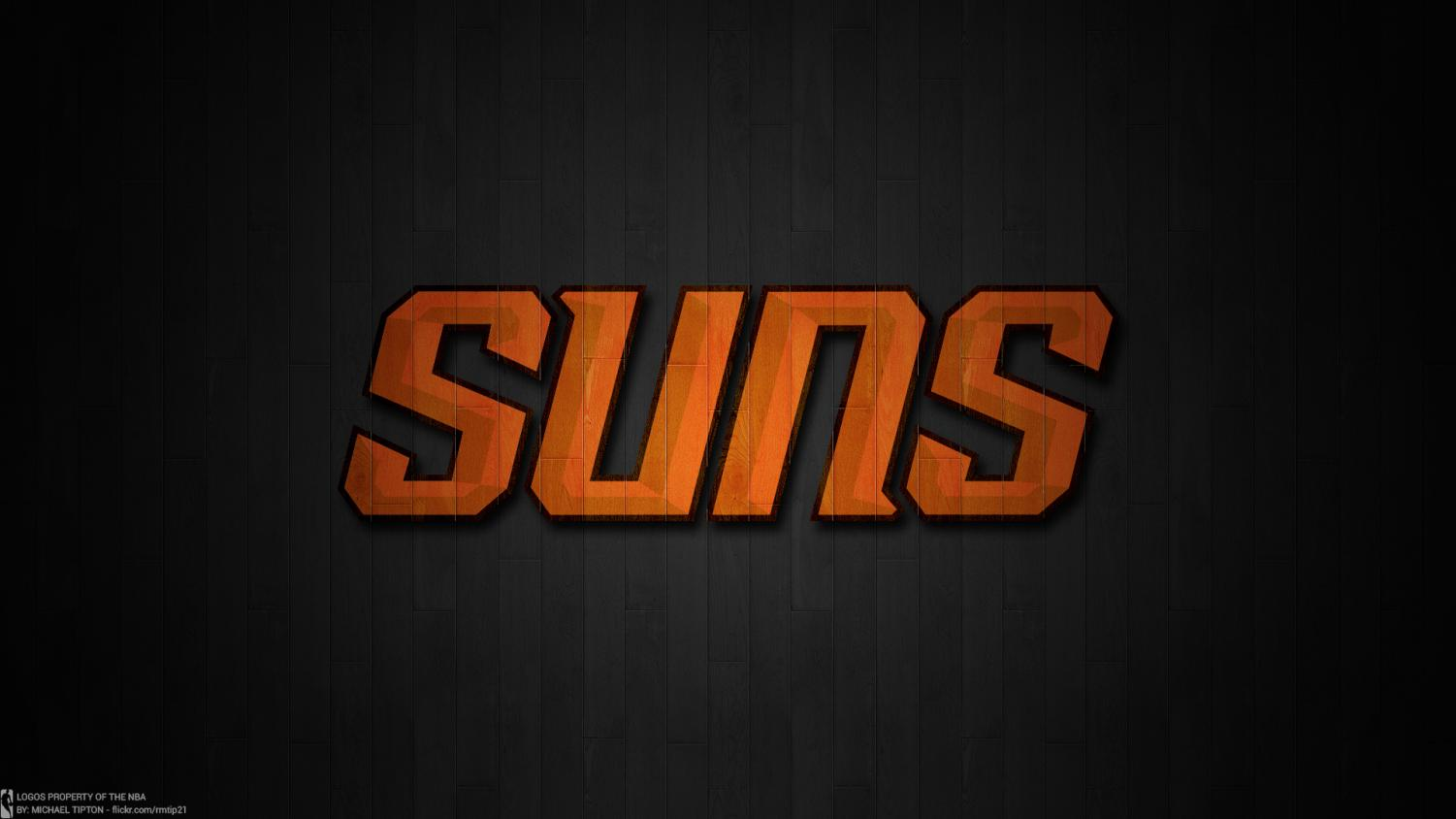 The Phoenix Suns logo in 2013