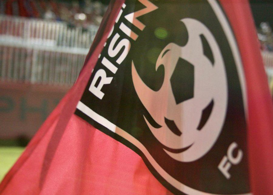 Phoenix Rising FC corner flag