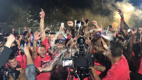 Northeast Valley News reporters have the opportunity to cover sporting events — such as Phoenix Rising soccer games — immediately upon joining the staff.