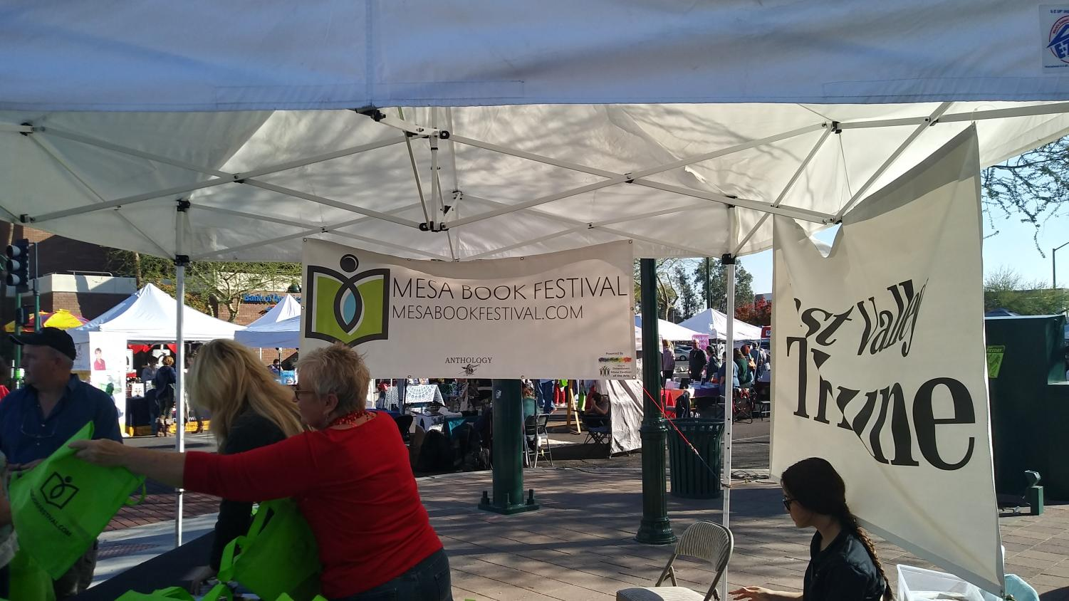 The 2018 Mesa Book Festival in Downtown Mesa
