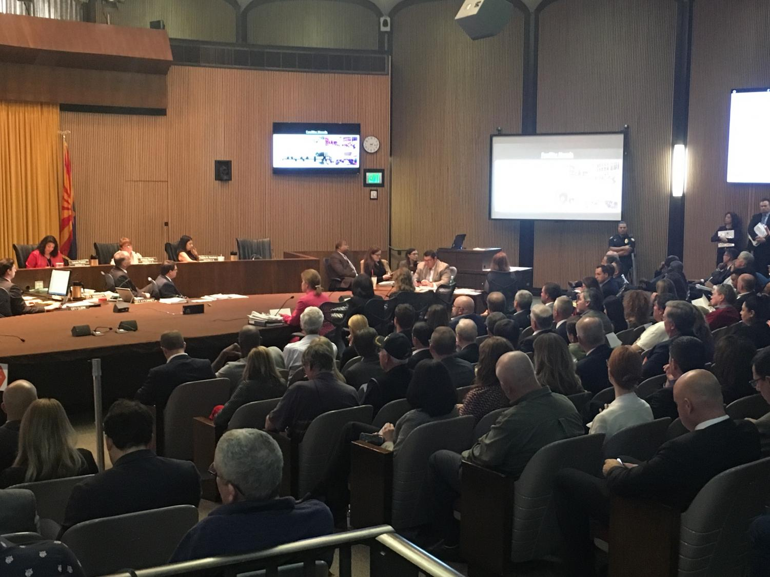 Phoenix City Council summarizes business and fiscal initiatives to renovation in public meeting as well as other proposed incentives.