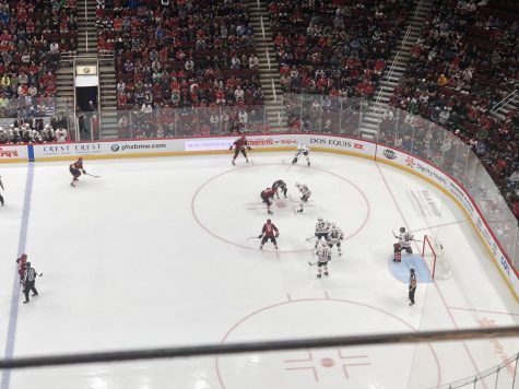 The Arizona Coyotes lose home opener to Anaheim Ducks 1-0