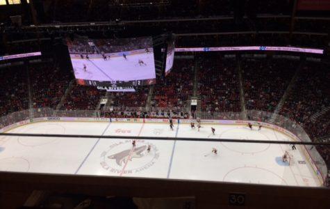 Arizona Coyotes rally in shutout win over Calgary Flames