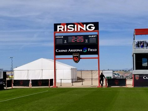 Phoenix Rising FC's stadium renamed Casino Arizona Field