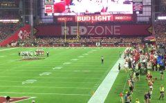 Arizona hung on to win 34-33 at State Farm Stadium on Sunday