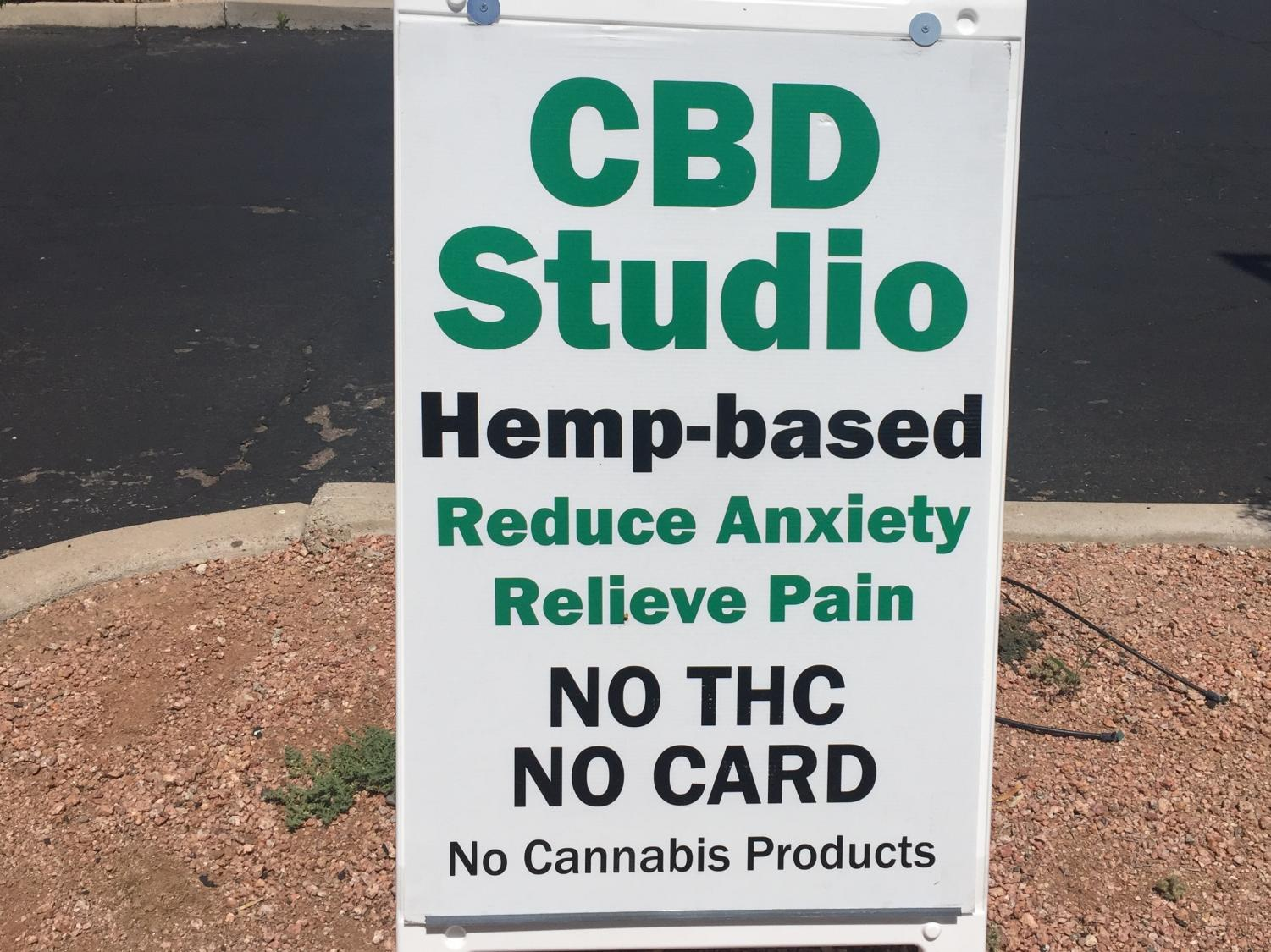 CBD Studio Sign