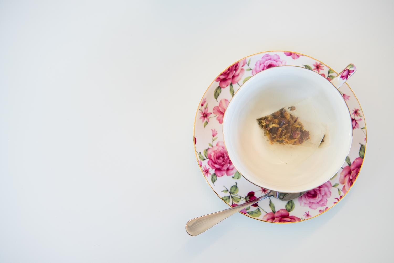 Tea serving gratitude