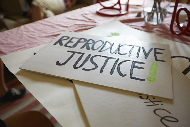 Rallies against recent attacks on women's reproductive rights