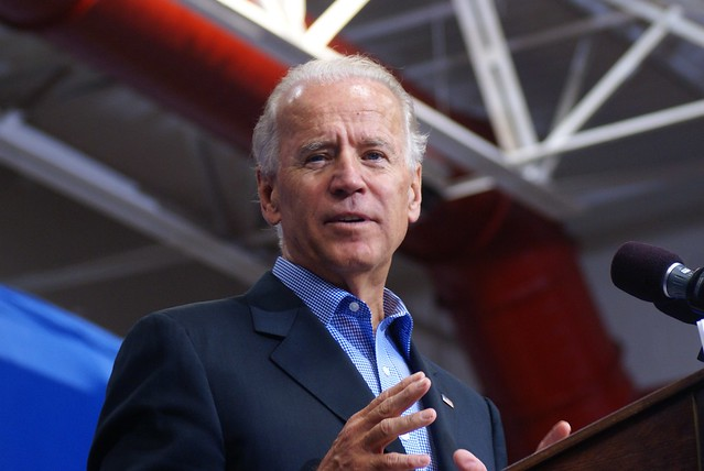 Democratic+Presidential+candidate+Joseph+R.+Biden+on+campaign+trail