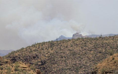 The 'Woodbury Fire' in Superstition Wilderness, has consumed over 96,000 acres