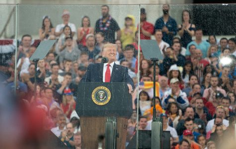 July 4 event and Trump's address to attendees