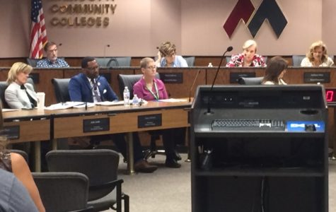 Tuesday's Governing Board Meeting. Maricopa Community College District