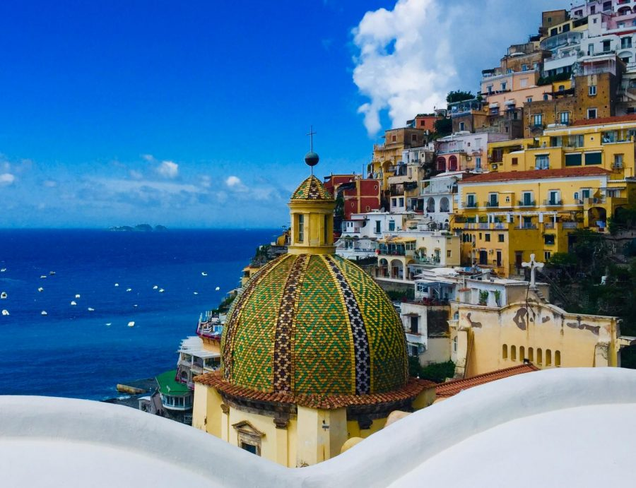 View+from+Positano+
