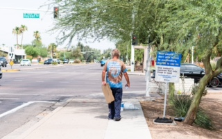 City of Scottsdale using signs to discourage direct aid to homeless