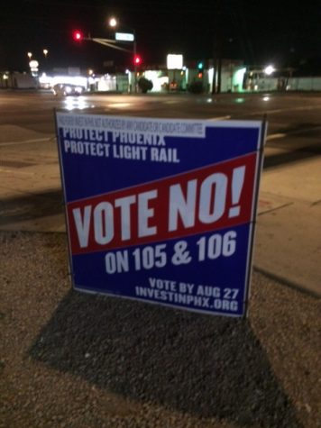 What Valley students need to know about Prop 105 (the fate of light-rail) and 106-  VOTE THIS TUESDAY, August 27