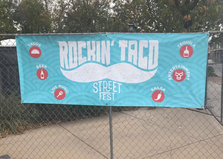 Rockin Taco Fest Banner