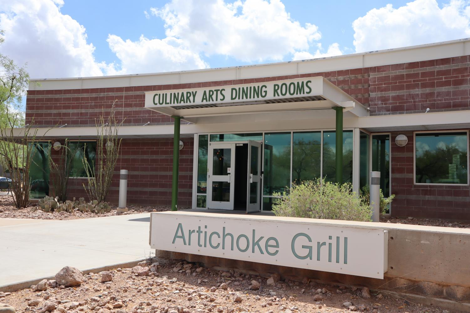 Artichoke Grill on Scottsdale Community College (SCC) campus