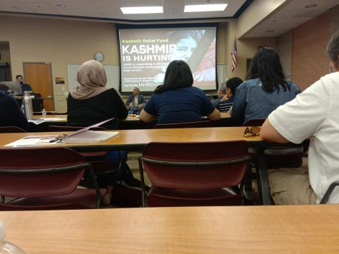ASU panel and film screening of Kashmir conflict and relief need.