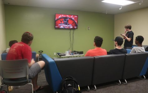 A space at SCC for gaming consoles, friendly competition and socializing