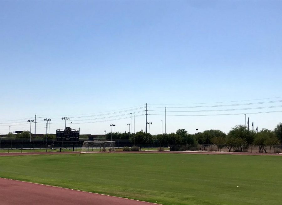 Scottsdale Community College former football field will be used for soccer