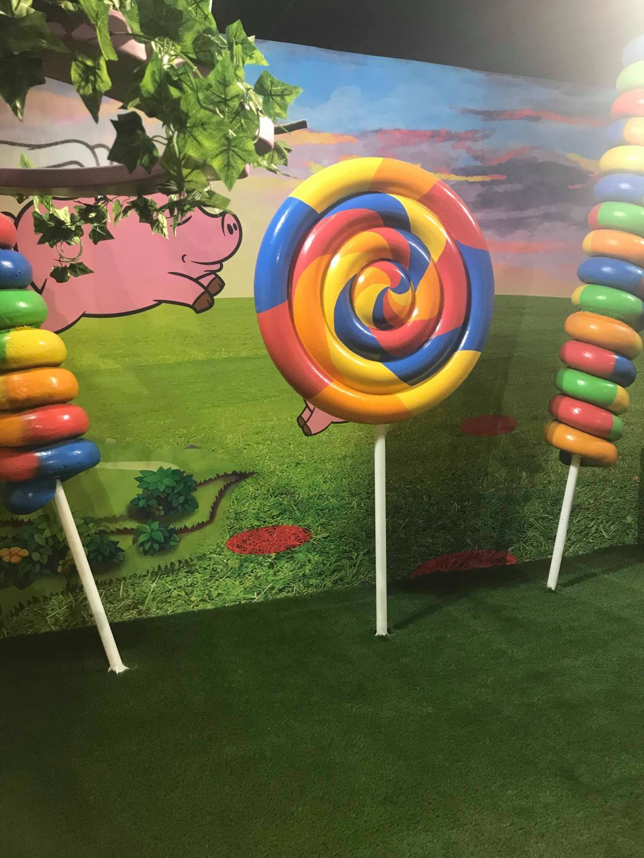 Lolipops displayed