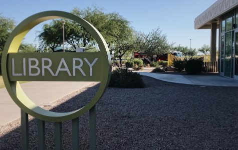 Students at Scottsdale Community College Library interrupted by fire alarm