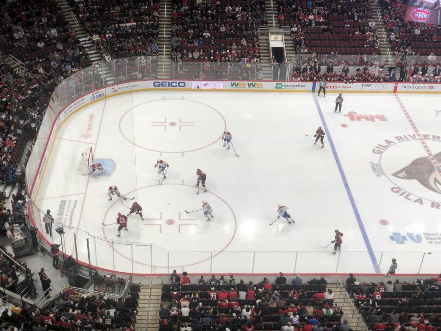 Arizona Coyotes vs. Montreal Canadiens