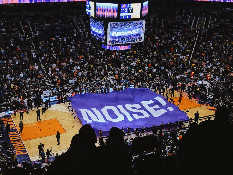 The Phoenix Suns vs. the Los Angeles Lakers